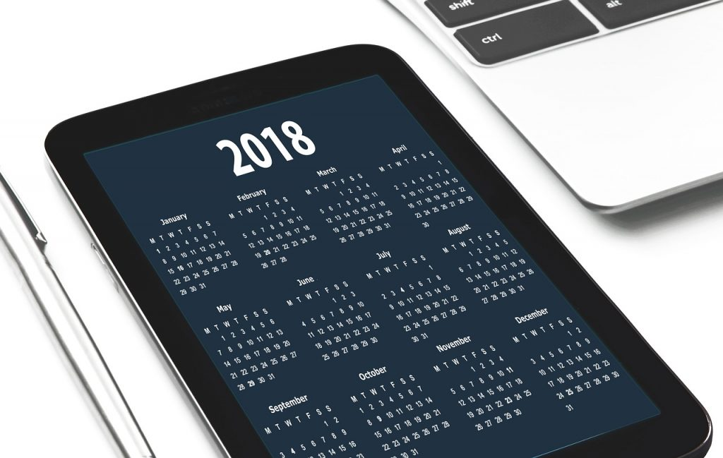 time tracking tools - ipad calendar